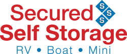 Secured Self Storage logo